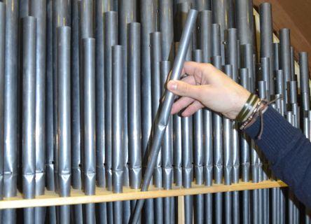 Manutenzione ordinaria organo a canne