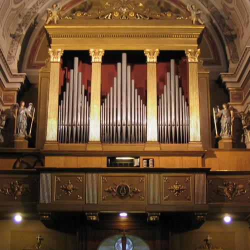 restauro organo a Lesmo
