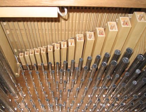 Organo Meccanico Truhenorgel