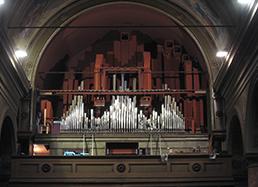 rimontaggio organo a canne